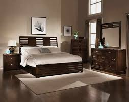 beige bedroom furniture. Minimalist Bedroom With Beige Wall Painting And White Bedding Furniture A