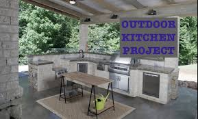 Building An Outdoor Kitchen Building An Outdoor Kitchen Youtube