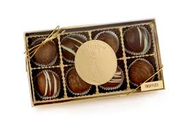 truffle box 8 ct sweetland cans michigan chocolates and gifts