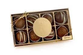 truffle box 8 ct sweetland cans michigan chocolates and gifts