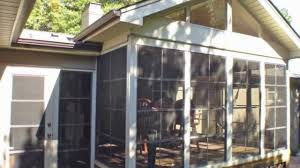 Room Addition Kits Diy Porch Enclosure Eze Breeze Kits My Sunroom Llc Youtube