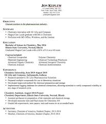 Pharmaceutical Engineer Sample Resume Classy Pin By Latifah On Example Resume CV Pinterest Chemist Resume