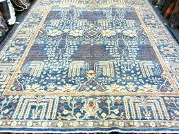 light blue oriental area rug lovely 8 x tree of life afghan red vintage