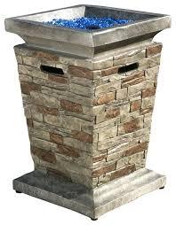 fire pit column outdoor liquid propane fire column target fire pit column