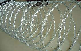 Straight Line Razor Wire Works Well as top Linings for Fences