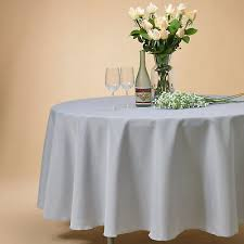 108 inch round tablecloths table cover for wedding parties holiday dinner