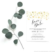 save the date template free download save the date templates printable modern gold save the date save the