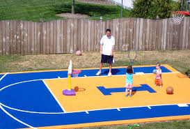 backyard ideas basketball court. small backyard basketball court ideas l