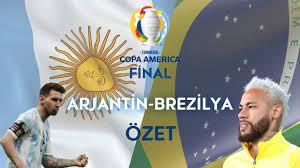 Tarihi Arjantin (1-0) Brezilya maç özeti ve golü izle youtube Messi  kazanınca Neymar ağladı! - Haber Entel