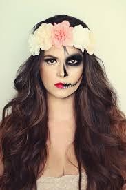 half skull makeup tutorial cocochic 60 terrifyingly