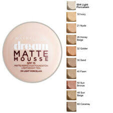 3x Maybelline Dream Matte Mousse Foundation 022 Natural