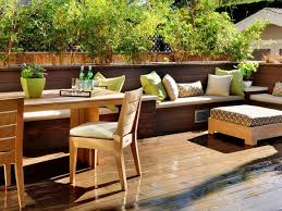Decking furniture ideas Cool Contemporary Deck With Builtin Benches Diy Network Deck Storage Bench Ideas Diy