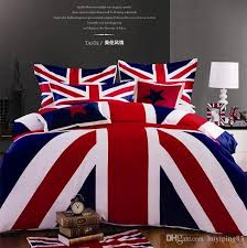 america uk national flag 100 cotton queen king size bedding sets luxury duvet comforter cover set bed linen bedclothes bed sets in a bag king size duvet