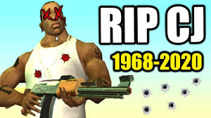 RIP Carl Johnson (1968 - 2020) & Why CJ Will NEVER RETURN in GTA 6 - YouTube