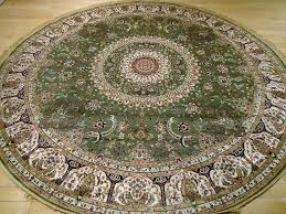 round persian rugs silk rugs 8 round rug green silk carpet circle vintage persian rugs canada