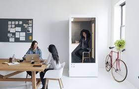 eco friendly corporate office. This Eco-friendly Phone Booth Solves The Biggest Problem With Open Plan  Offices Eco Friendly Corporate Office