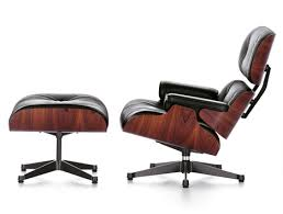 Ray and charles eames furniture Black Heals Eames Lounge Chair By Charles And Ray Eames