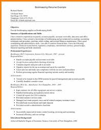 Bookkeeping Resume Example 60 bookkeeping resume activo holidays 30