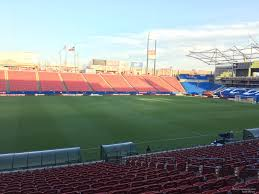 Toyota Stadium Football Seating Chart Toyota Stadium Section 104 Fc Dallas Rateyourseats Com
