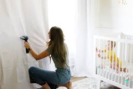 Blackout Shades Baby Room Simple Decoration