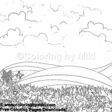 Nature Landscape Coloring Page 1187 Ultimate Coloring Pages