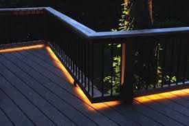 led deck lighting ideas. Under Railing Led Deck Lighting Ideas