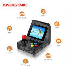 ARCADE MINI Tốt Nhất Phổ Biến 32 Bit Mini Arcade Mini Retro Tay Cầm Cầm Tay  Di Động Cổ Điển Máy Chơi Game Cầm Tay 520 Trò Chơi|Handheld Game Players