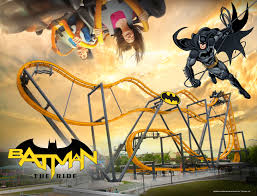 free fly coaster batman the ride to open at six flags discovery kingdom in 2019 business wire