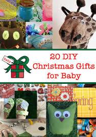 20 DIY Baby Gifts for Christmas