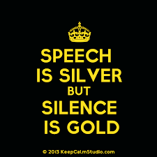 have at least one other person edit your essay about speech is  speech is silver silence is golden wiktionary