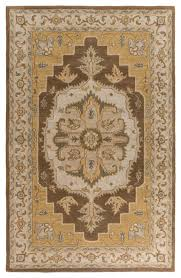 middleton traditional camel dark brown area rug mediterranean hall and stair runners by incredible rugs and decor