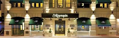 few hotels in new york have closer ties to the world of literature and the arts than the algonquin the hotel has played host to new york s creative elite