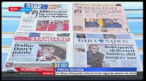 This site uses cookies to provide you with a better user experience. Major Headlines On Kenyan Newspapers Youtube