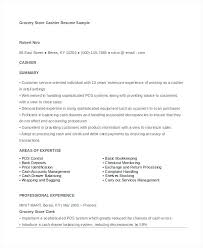 6 Cashier Resume Templates Doc Free Premium Templates Grocery Store ...