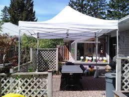 DIY:Backyard White Canopy Tent DIY Idea Backyard White Canopy Tent DIY Idea
