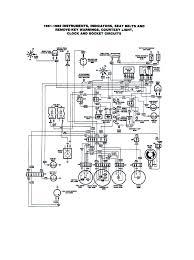 Fiat 124 spider electrical schemes