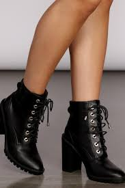 <b>Women's Boots</b> & Booties | Open Toe, Lace Up & Stiletto Booties ...