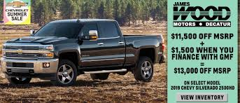 James Wood Motors - New & Used Vehicles in Decatur