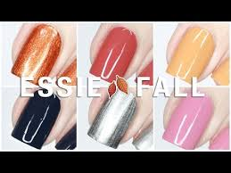 Essie Color Chart 2018 Essie Fall For Nyc Fall 2018 Collection Live Swatches