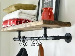 Coat Rack Industrial Magnificent Decoration Industrial Coat Rack Diy Bench Plans Coat Rack Diy