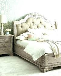 Off White Bed Frame Queen Canopy Bed Only Off White Black Bedroom ...