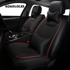 pu leather car seat cover for ford focus 2 mondeo focus rt explorer f 150 mustang edge fiesta kuga auto styling seat covers custom seat covers for a