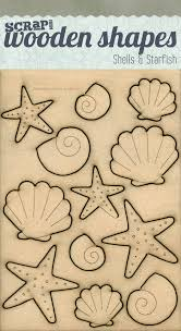 picture of inspired to make wooden shapes s and starfish