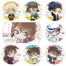 Huy hiệu cài áo IN HÌNH Detective Conan Thám tử lừng danh anime chibi dễ  thương tiện lợi m5