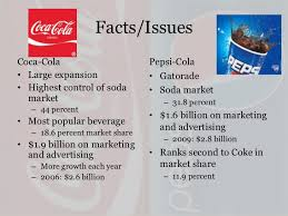 pepsi v coke case study