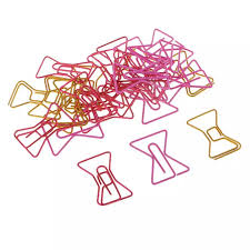 Paper Clip Size Chart Prettyia 30pcs Mixed Metal Bowknot Small Paper Clips Bookmarks Office School Stationery