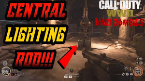 Central Lighting Rod Call Of Duty Ww2 Zombies Defend The Central Lightning Rod Best Guide