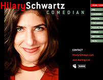 Hilary Schwartz Website on Behance