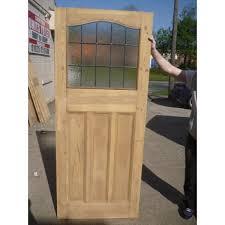 1930 edwardian stained glass exterior door interior door