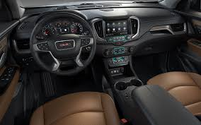 2018 gmc interior. unique 2018 image of the dashboard and front seats cabin in 2018 gmc  terrain in gmc interior gmccom